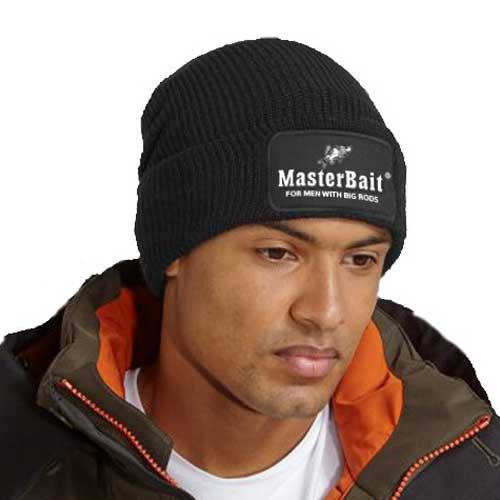 Black warm fishing headwear