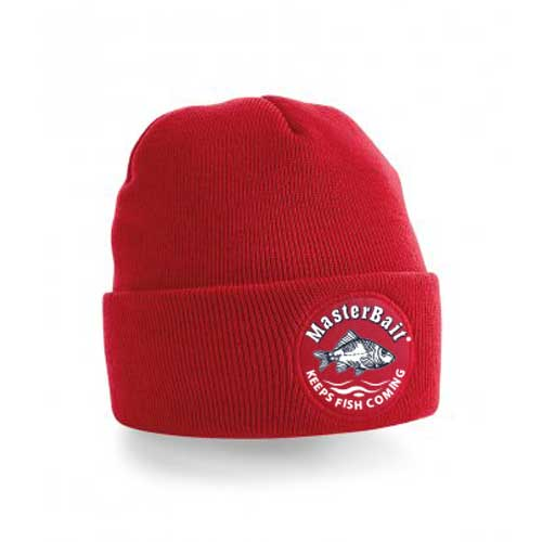 Red large beanie headwear