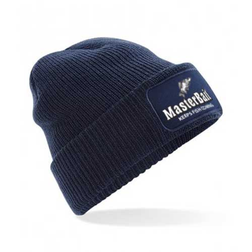 Navy blue beanie hat - perfect gift for men