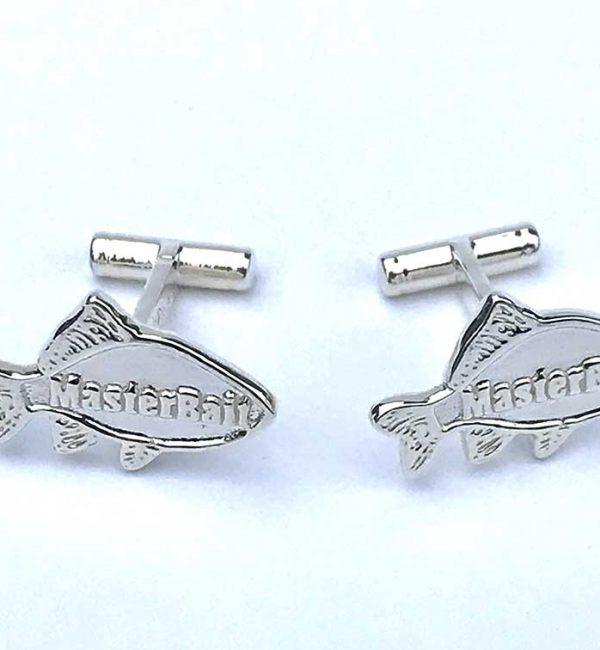 MasterBait fishing cufflinks