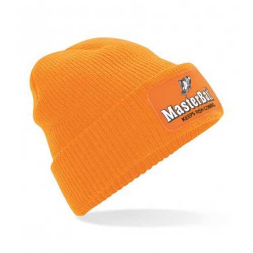 Orange warm cosy hat