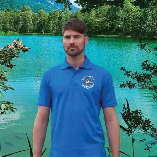 Polo shirt for anglers