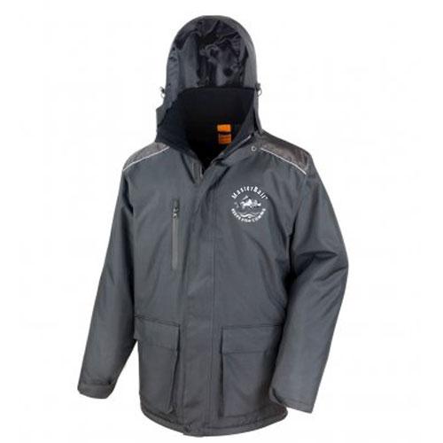 Waterproof fishing coat with hood